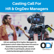 Casting Call For HR & OrgDev Managers